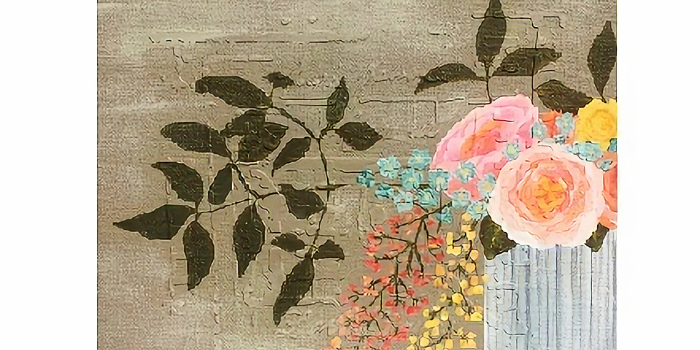 Spring Flowers, Paint Night