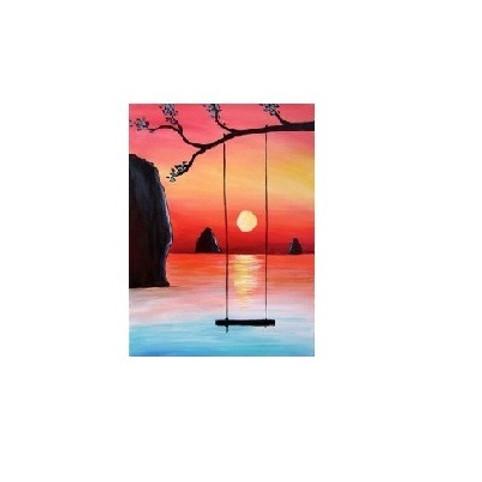 Sunset View, Paint Night