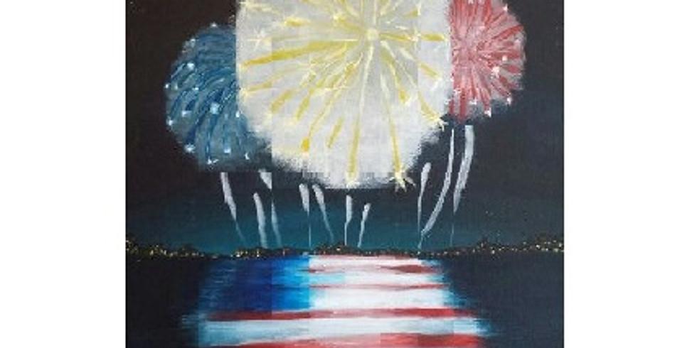 Celebrating Freedom, Paint Night