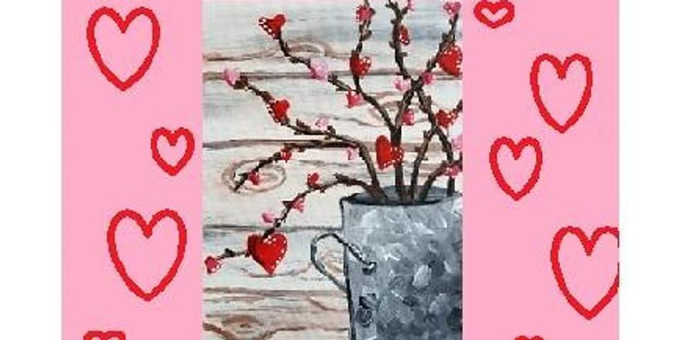 Growing Love, Paint Night