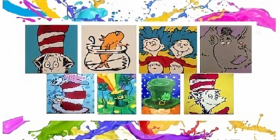 Kids' Paint Night in Honor of Dr Seuss