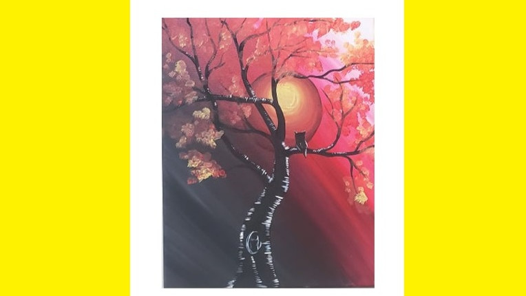 The Red Moon, Paint Night