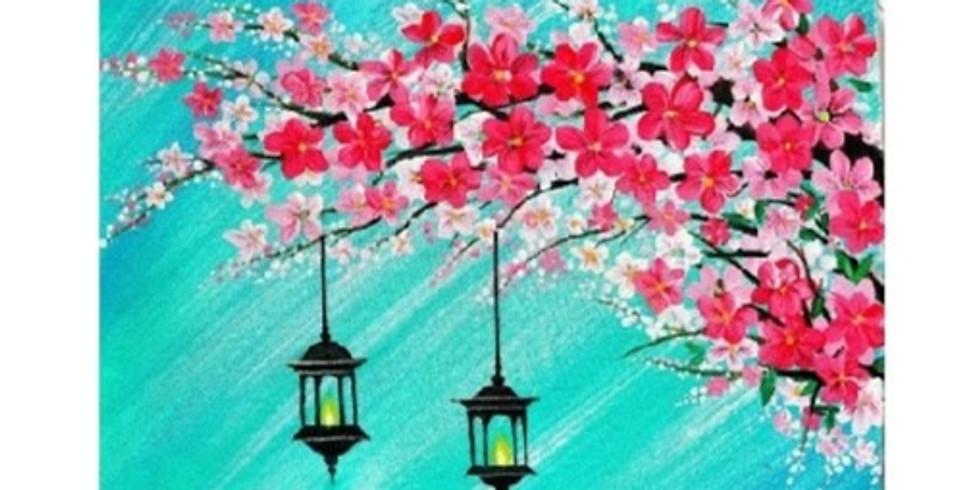 Blooming Tree, Paint Night