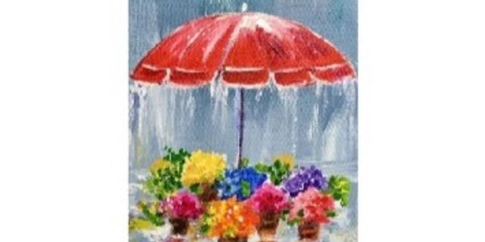 April Showers, Paint Night
