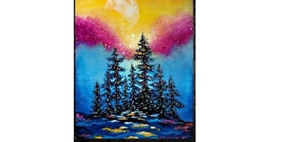 Colorful Night, Paint Night