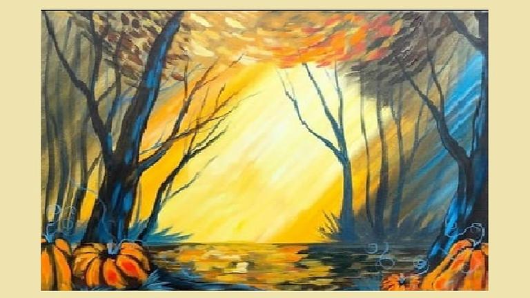Fall Sunrise, Paint Night