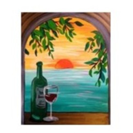 Wine & Beach, Paint Night