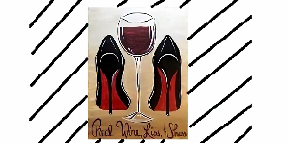 Red Wine and Shoes, Paint Night