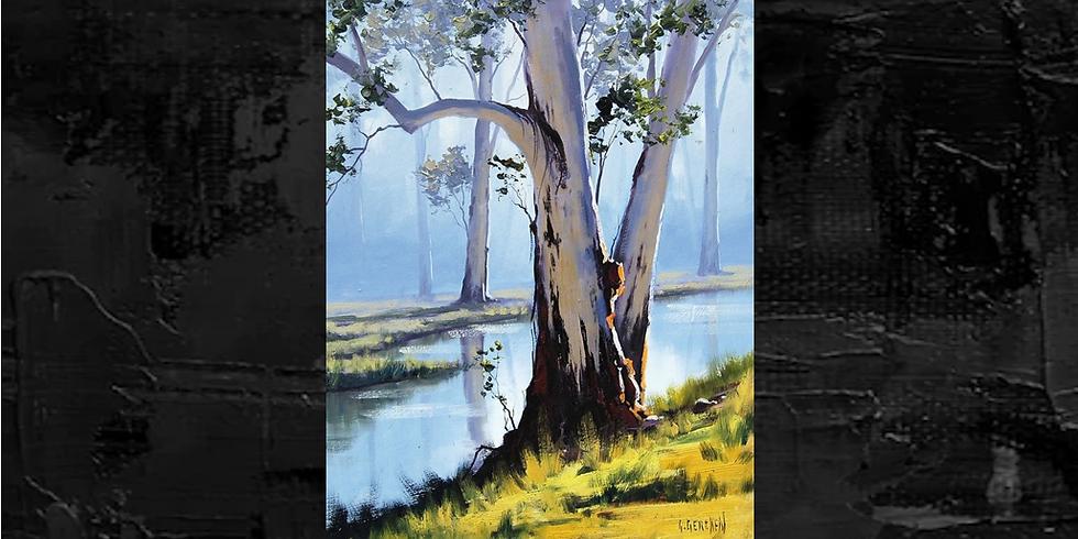 Morning Tree Paint Class