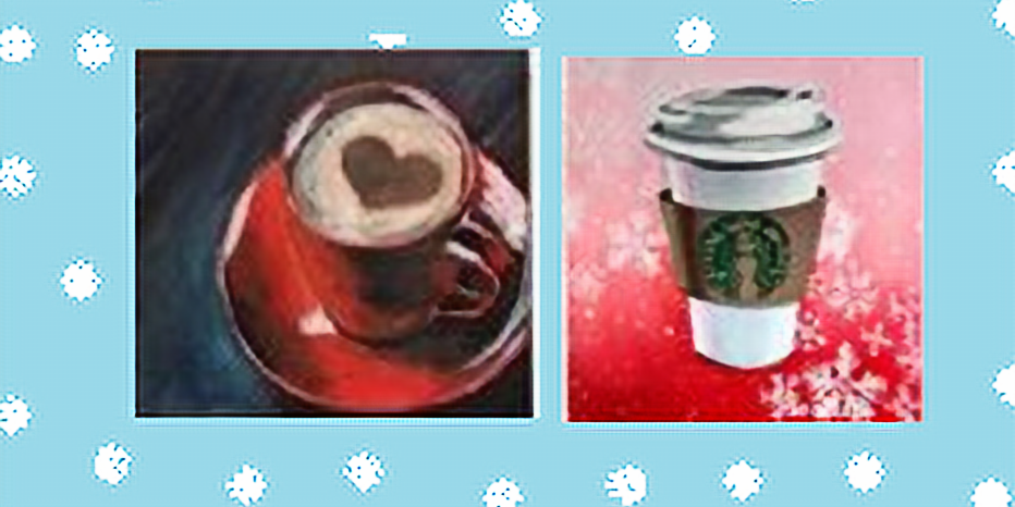 Take Your Pick, Coffee Paint Night for All Ages