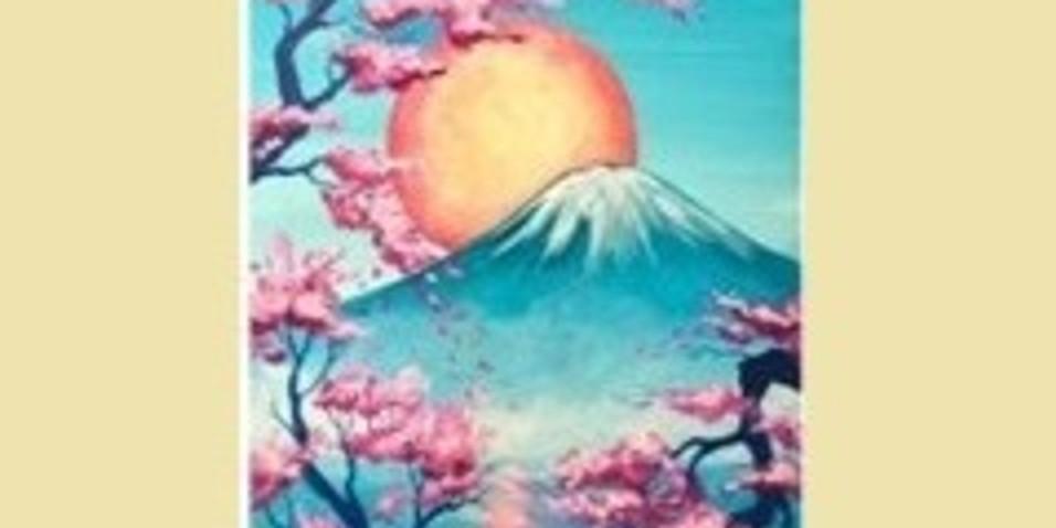 Mt Fuji, Paint Night