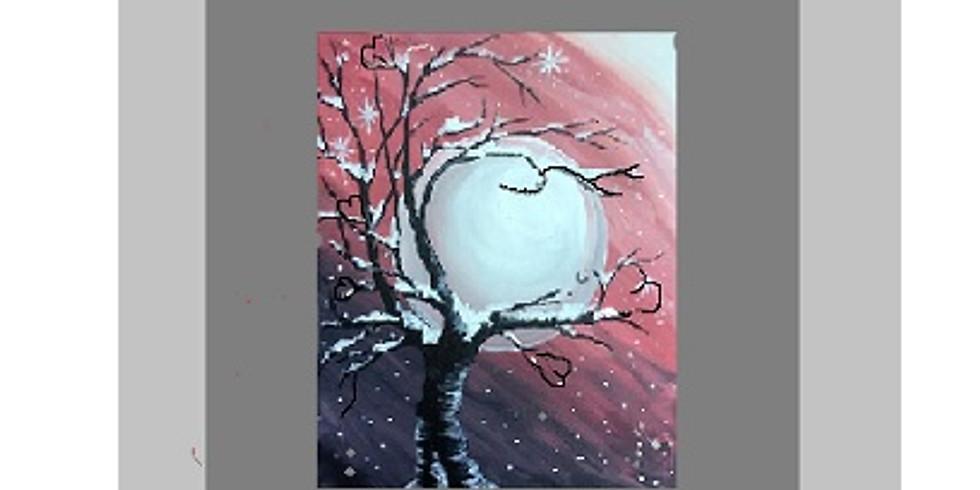 Full Moon, Paint Night