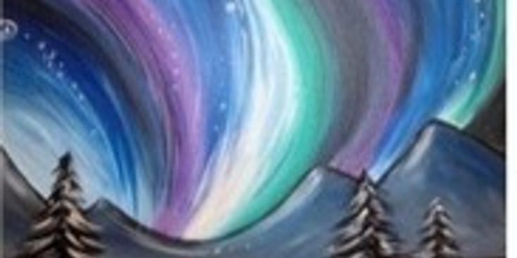 Northern Lights Paint Night