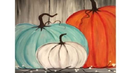 Pumpkin Time, Paint Night