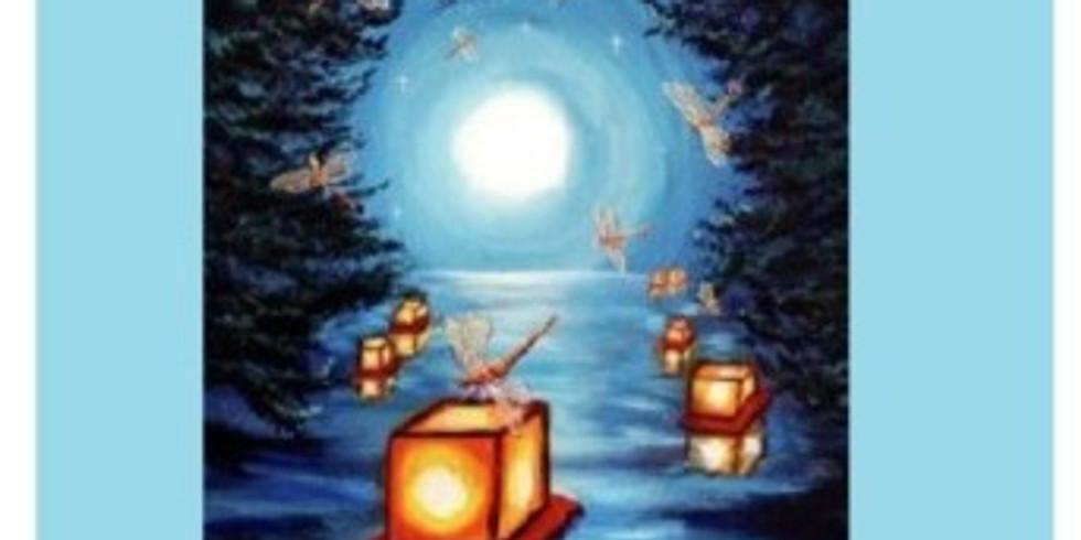 Moon Lanterns, Paint Night