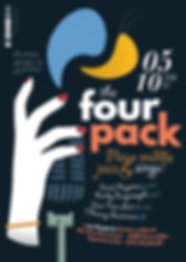 Affiche The Four Pack (Jazz)