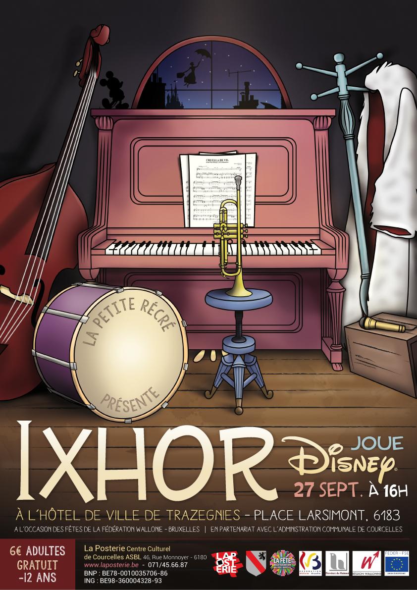 IXHOR Plays Disney