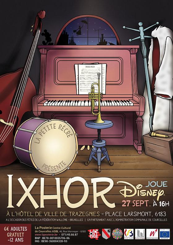 Poster IXHOR Plays Disney