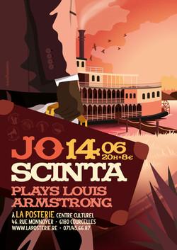 Jo Scinta Plays Louis Armstrong