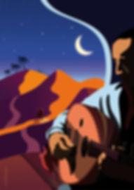 Illustration Orient désert