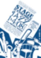 Affiche pour le stage d'ensemble jazz
