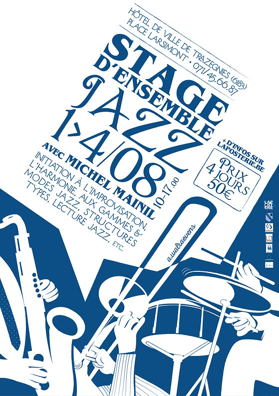 Poster summer jazz course
