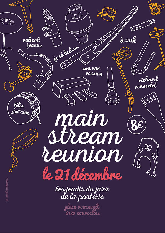 Affiche Mainstream Reunion