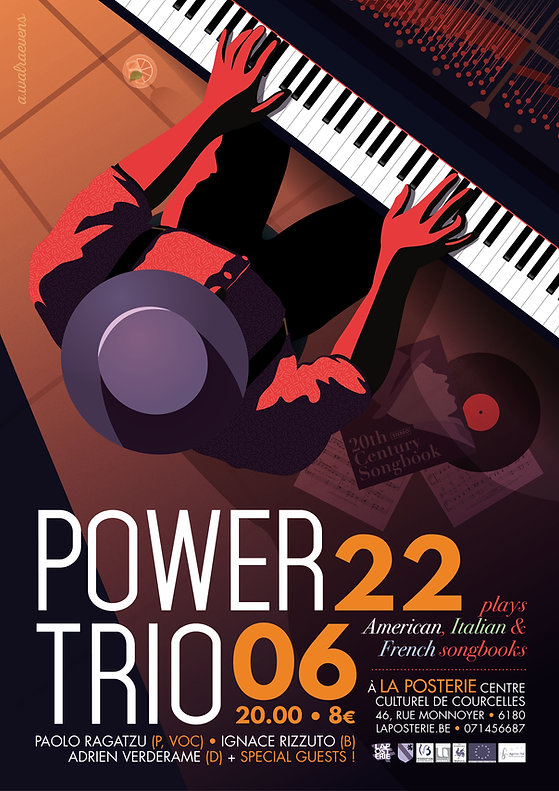 Poster Power Trio