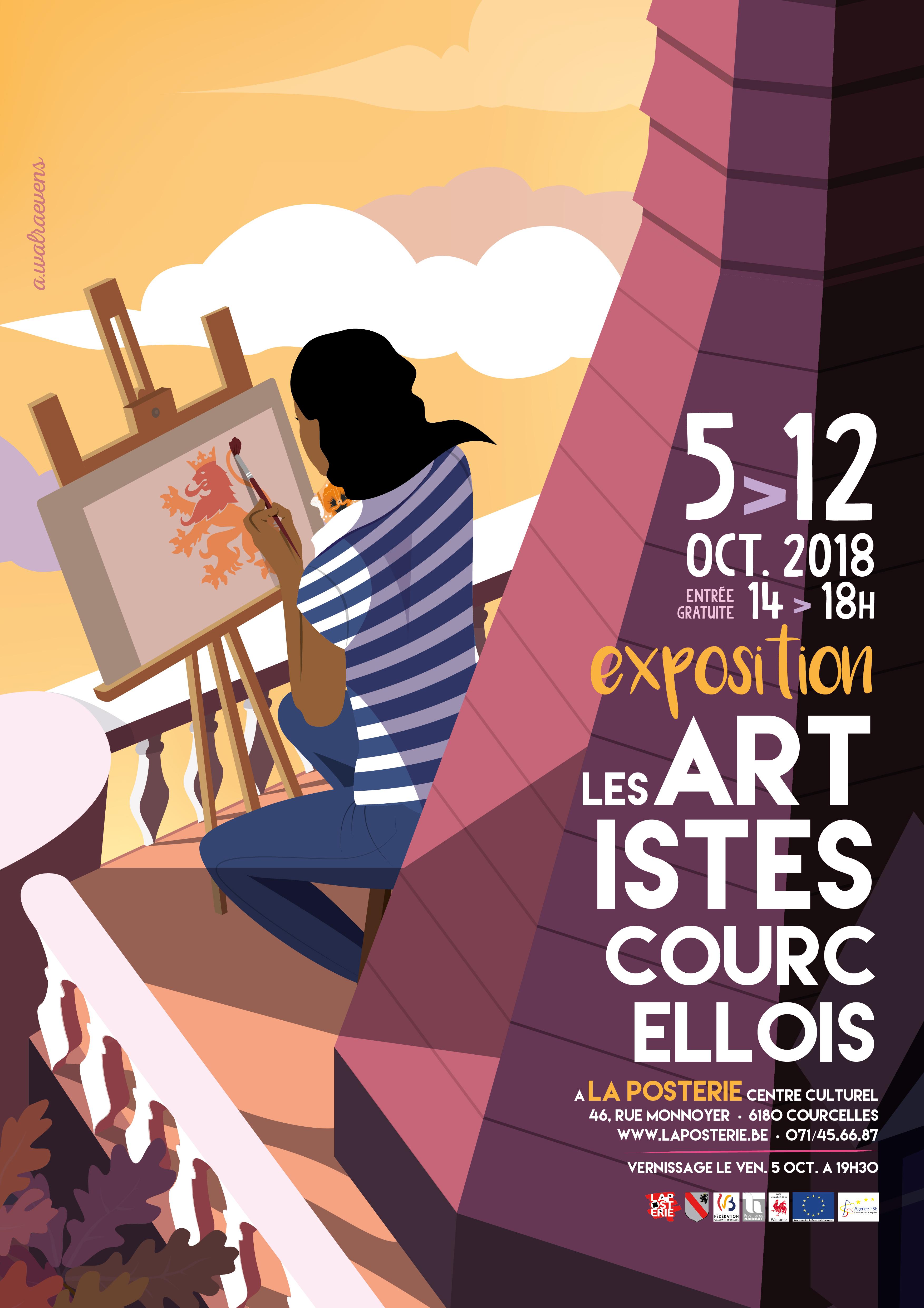 EXPO Artistes Courcellois 2018