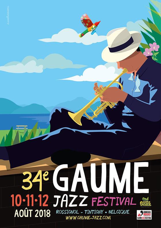 Affiche Gaume Jazz Festival