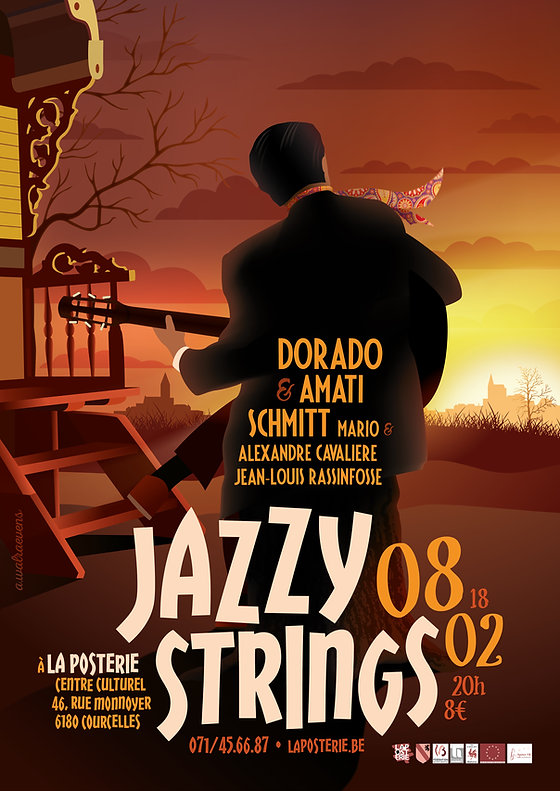 Affiche Jazzy Strings