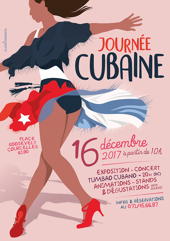 Affiche Journée Cubaine