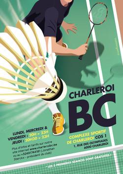 Affiche Charleroi BC