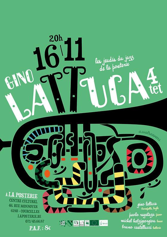 Poster Gino Lattuca Quartet