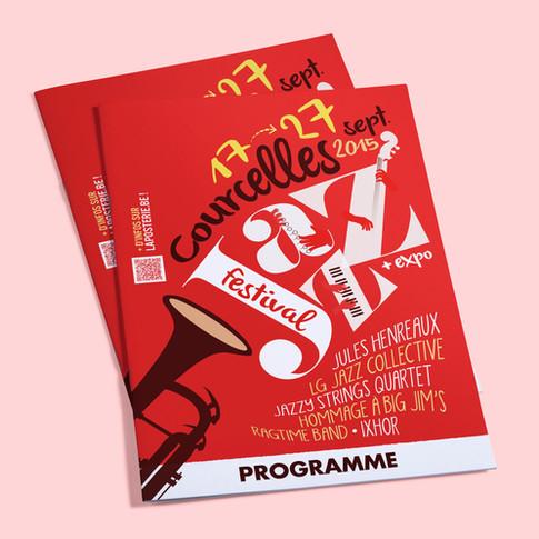 Programme du Courcelles Jazz Festival