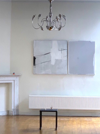 180x100cm  2luik - in CAS te Oostende (Contemporary Art Space)