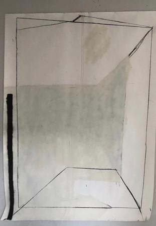 200x150cm op Canson 240G