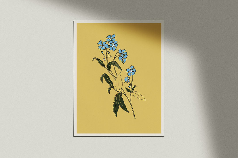 """Forget-Me-Not"" Giclée Print"