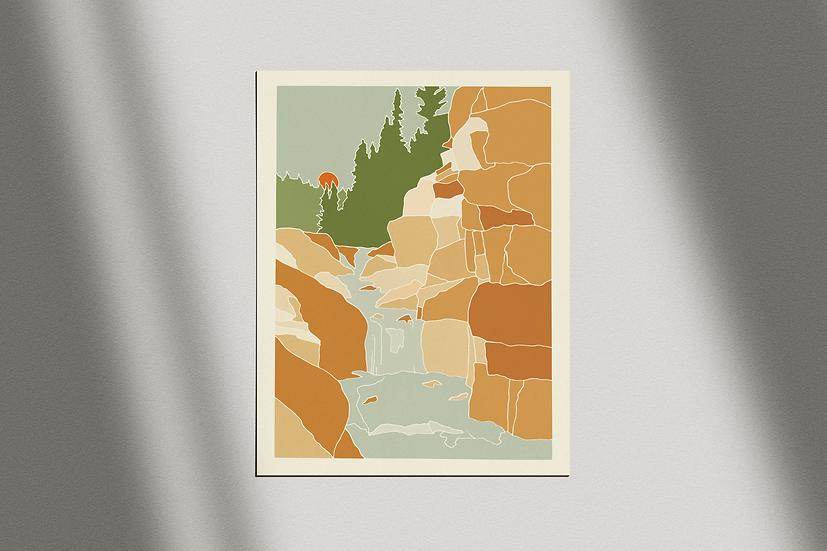 "Cameron Peak Fire Relief Fund | ""Poudre Falls"" Giclée Print"
