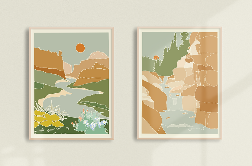 Cameron Peak Fire Relief Fund  | Poudre Print Duo Giclée Prints
