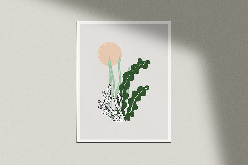 """La Mer Modérne"" Giclée Print"