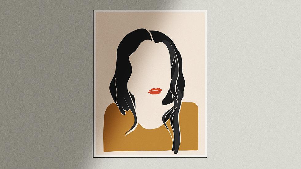 """""""Femina"""" Giclée Print"""