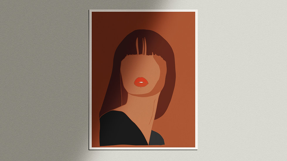 """Kvinne"" Giclée Print"