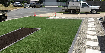 Synthetic Grass After | AAA Landscaping & Property Maintenance Cairns - Earlville - Gordonvale - Edge Hill - Trinity Beach - Palm Cove - Smithfield - Redlynch | Fencing & Gates