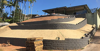 Retaining Wall After | AAA Landscaping & Property Maintenance Cairns - Earlville - Gordonvale - Edge Hill - Trinity Beach - Palm Cove - Smithfield - Redlynch | Fencing & Gates