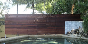 Timber Screen | AAA Landscaping & Property Maintenance Cairns - Earlville - Gordonvale - Edge Hill - Trinity Beach - Palm Cove - Smithfield - Redlynch | Fencing & Gates
