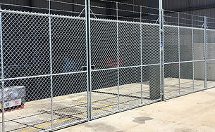 Chainwire Compound Fence   AAA Landscaping & Property Maintenance Cairns - Earlville - Gordonvale - Edge Hill - Trinity Beach - Palm Cove - Smithfield - Redlynch   Fencing & Gates