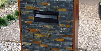 Brick Letterbox | AAA Landscaping & Property Maintenance Cairns - Earlville - Gordonvale - Edge Hill - Trinity Beach - Palm Cove - Smithfield - Redlynch | Fencing & Gates