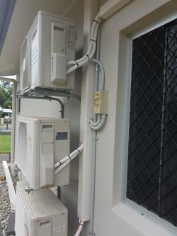 Cairns Split System Aircon Install