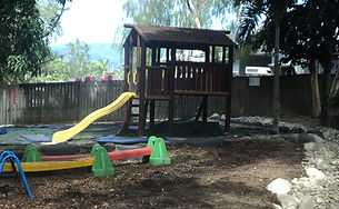 Kids Cubby House with Slide | AAA Landscaping & Property Maintenance Cairns - Earlville - Gordonvale - Edge Hill - Trinity Beach - Palm Cove - Smithfield - Redlynch | Fencing & Gates